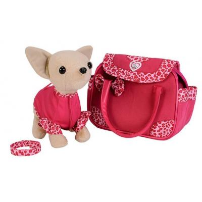 Мягкая игрушка Chi Chi Love Чихуахуа Шоу-звезда с сумочкой 20 см (589 7617)