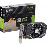 Видеокарта MSI GeForce GTX1060 6144Mb OC (GTX 1060 6G OC)