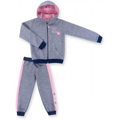 breeze с розовыми лампасами 9553-116G-blue