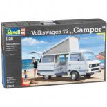 Сборная модель Revell VW T3 Camper  1:25 Фото 1
