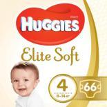 Подгузник Huggies Elite Soft 4 Mega 66 шт Фото