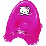 Горшок Maltex Hello Kitty c нескользящими резинками розовый Фото
