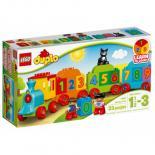 Конструктор LEGO Duplo Поезд Считай и играй Фото
