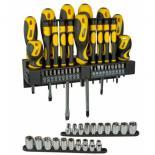 Набор инструментов Stanley отверток, головок, вставок 57 шт. Фото