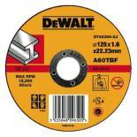 Диск DeWALT отрезной по металлу, 125х1.6х22.2мм. Фото