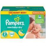 Подгузник Pampers New Baby-Dry Mini Размер 2 (3-6 кг), 144 шт Фото 1