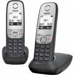Телефон DECT Gigaset A415 DUO Black Фото