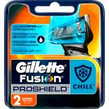 Сменные кассеты Gillette Fusion ProShield Chill 2 шт Фото