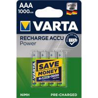 Акумулятор Varta AAA Rechargeable Accu 1000mAh * 4 Фото