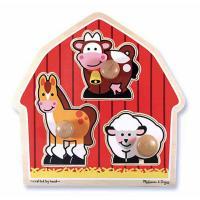 Розвиваюча іграшка Melissa&Doug Животные с фермы Фото