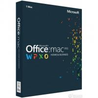 Офисное приложение Microsoft Office Mac 2011 Home Business DVD Фото
