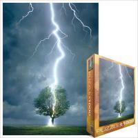 Пазл Eurographics Молния ударяющая в дерево Фото