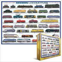 Пазл Eurographics Современные локомотивы Фото