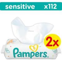 Влажные салфетки Pampers Sensitive, 112 шт Фото