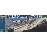 Сборная модель Revell Авианосец U.S.S. Nimitz CVN-68 1:720 Фото