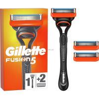 Бритва Gillette Fusion с 2 сменными картриджами Фото