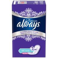 Ежедневные прокладки Always Platinum Collection Deo Normal 50 шт Фото