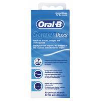 Зубная нить Oral-B Super Floss 50 м Фото