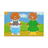 Развивающая игрушка Мир деревянных игрушек Два медведя Фото