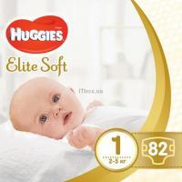 Подгузник Huggies Elite Soft 1 Mega (2-5 кг) 82 шт Фото