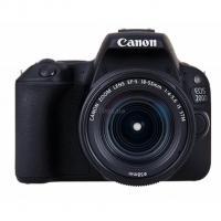 Цифровой фотоаппарат Canon EOS 200D 18-55 DC III Black Kit Фото