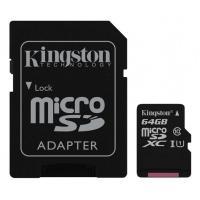 Карта пам'яті Kingston 64GB microSDXC class 10  UHS-I Canvas Select Фото