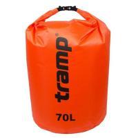 Гермомешок Tramp PVC Diamond Rip-Stop оранжевый 70л Фото
