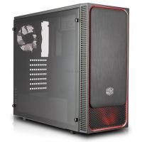 Корпус CoolerMaster MasterBox E500L (red) Фото