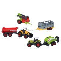 Спецтехника Same Toy Farm Трактор с прицепом Фото