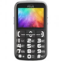 Мобильный телефон NOUS NS 2422 Helper Black Silver Фото