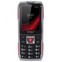 Мобильный телефон Ergo F246 Shield Black Red Фото