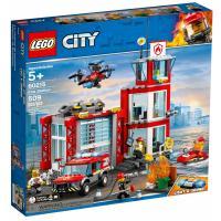Конструктор LEGO City Пожарное депо 509 деталей Фото