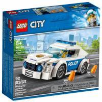 Конструктор LEGO City Автомобиль полицейского патруля 92 детали Фото