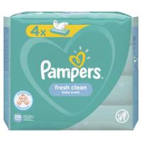 Влажные салфетки Pampers Fresh Clean 4х52 шт Фото
