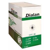 Кабель сетевой Dialan FTP 305м КНПЭп 4*2*0,50 [СU] cat.5e, внеш., провол Фото