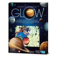 Ігровий набір 4М Светящиеся наклейки Планеты и 100 звезд Фото