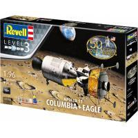 Збірна модель Revell Модули Колумбия и Орел миссии Аполлон 11 уровень 3 Фото