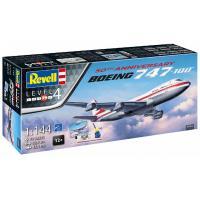 Сборная модель Revell Самолет Боинг-747-100 50 лет 4, 1:144 Фото