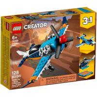 Конструктор LEGO Creator Винтовой самолёт 128 деталей Фото