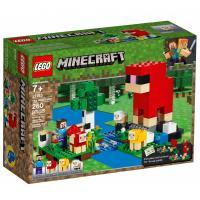 Конструктор LEGO MINECRAFT Шерстяная ферма 260 деталей Фото