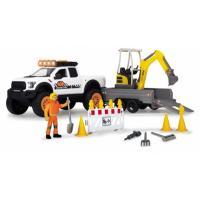 Ігровий набір Dickie Toys Плейлайф. Строительство дороги со звук. и свет. э Фото