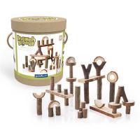 Ігровий набір Guidecraft Набор блоков Natural Play Палки и бруски 36 шт Фото
