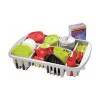 Игровой набор Ecoiffier набор посуды Pro-Cook в сушилке Фото