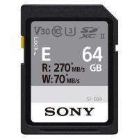 Карта памяти Sony 64GB SDXC class 10 UHS-II U3 V30 Entry Фото