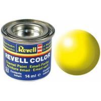 Аксессуары для сборных моделей Revell Краска эмалевая № 312 Светящаяся желтая шелково-ма Фото
