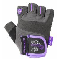 Перчатки для фитнеса Power System Cute Power Woman PS-2560 XL Purple Фото