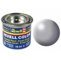 Аксессуары для сборных моделей Revell Краска эмалевая 374. Серая шелково-матовая,14 мл Фото