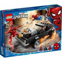 Конструктор LEGO Super Heroes Человек-Паук и Призрачный Гонщик прот Фото