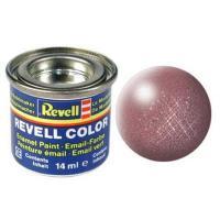 Аксессуары для сборных моделей Revell Краска эмалевая 93. Медь металлик. 14 мл Фото