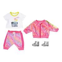 Аксессуар к кукле Zapf Набор одежды Baby Born Трендовый Розовый Фото